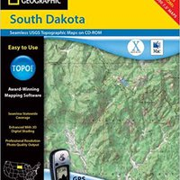 :HOT: National Geographic Topographical  South Dakota. added Conde canal Servicio Center