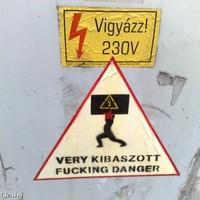 Újabb kétnyelvű figyelmeztetés