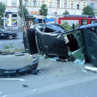 Feltűnésmentesen - a NNYI Subarujának balesete