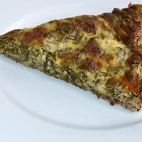 Zabos spenótos pite