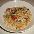 Kuszkusz mascarponés grill zöldségekkel.