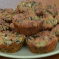 Tudatosan(T)eszem spenótos túrós muffin