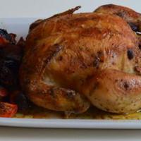 Mustáros csirke zöldségekkel