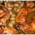 100. bejegyzés:) Boros, hagymás csirke