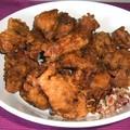 Bundázott csirke pekingi módra szecsuáni szezámos pikáns mártással