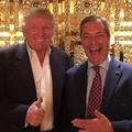 Trump és Farage két jó barát