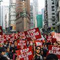 Kiállnak az angolszászok Hongkong mellett