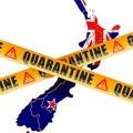 Lefasisztázták Új-Zélandot a karantén miatt