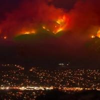 Óriási pusztítást végez a kaliforniai tűzvész