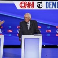 Bernie Sanders szívműtéte ellenére is elment a demokraták vitájára