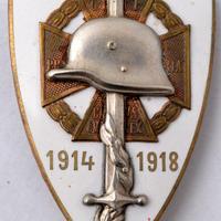 Országos Frontharcos Szövetség jelvénye