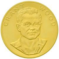 Grant Wood arany emlékérem