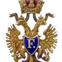 Vaskorona Rend III. osztályának miniatűrje
