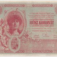 Korona bankjegyek
