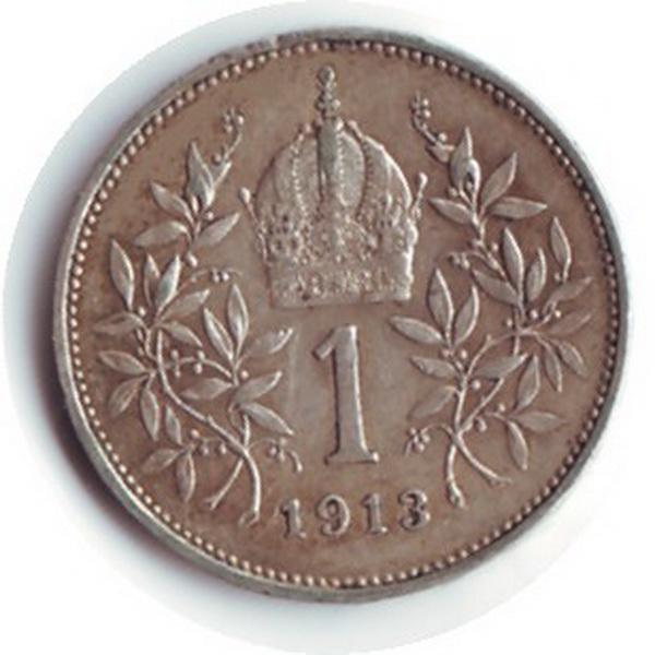 A korona egy pénzérmén