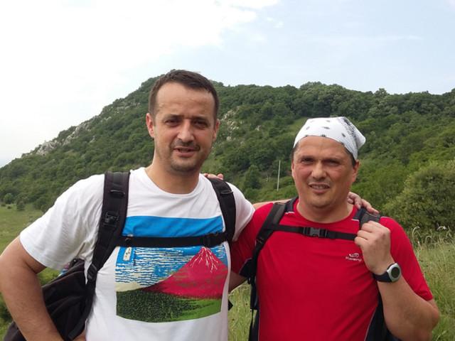 Túrabeszámoló a 2016-os Kinizsi 100 teljesítmény túráról Zséder Zsolt és Csató Ferenc részvételével
