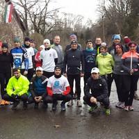 Becsületbeli futás Püspökladányban 2016. január 31-én