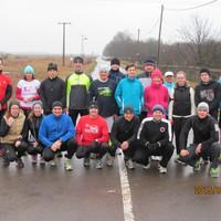 Becsületbeli futás Püspökladányban 2015. január 25-én