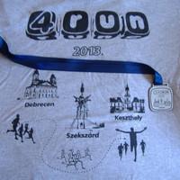 Molnár Zoli teljesítette a 4RUN futóverseny sorozatot!