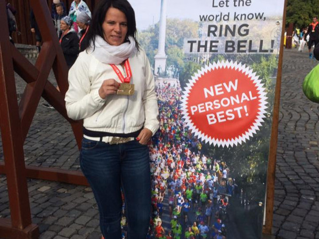 Pappné Évi beszámolója a 31. SPAR Budapest Maratonról