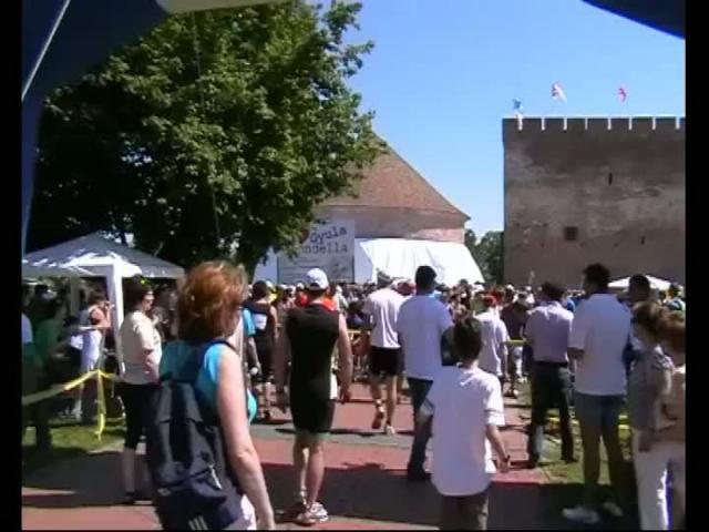 DaRuN Püspökladány futói a gyulai IV. Várfürdő Félmaratonon