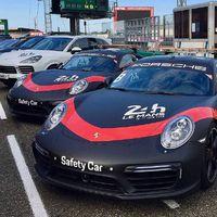 Biztonsági autó Le Mans-ban: Porsche 911 Turbo