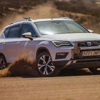 Sivatagi teszten járt a SEAT Ateca