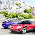 Elektromos Volkswagen-sziget az Égei-tengeren