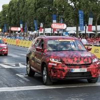 Skoda Kodiaq a Tour de France célvonalán