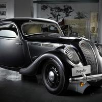 Párizsi Autószalon 1936: Skoda sportmodell