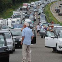 Mire figyeljünk, ha zsúfolt az autópálya?