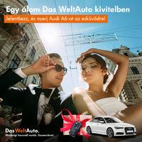 Hófehér Audival az esküvőre