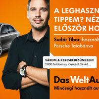 Plakátokon a Das WeltAuto értékesítői