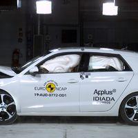 Euro NCAP: az A1 is a legjobbat érdemelte