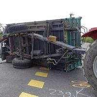 A traktornak nincs gyűrődő zónája