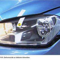Golf VII törésteszt - Olcsó alkatrésszel drága javítás