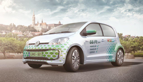 300 Volkswagen Up! a MOL Limo szolgáltatás flottájában