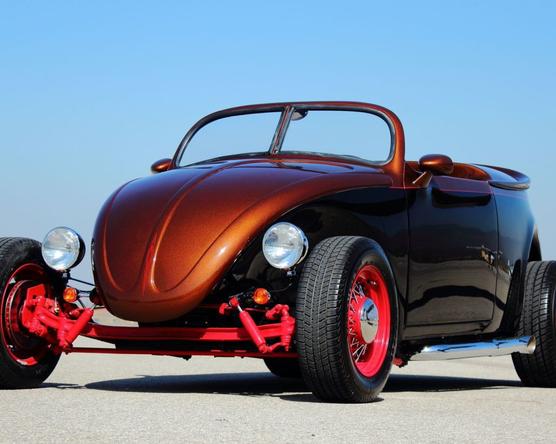 Porsche-motor hajtja a hot rod Bogárt
