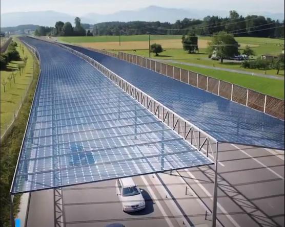 Napelemrendszer kerülhet az utak fölé!