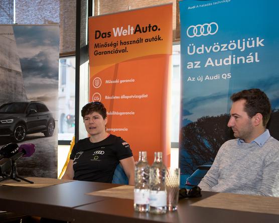Miklós Edit felépülését egy Audi Q5 is segíti