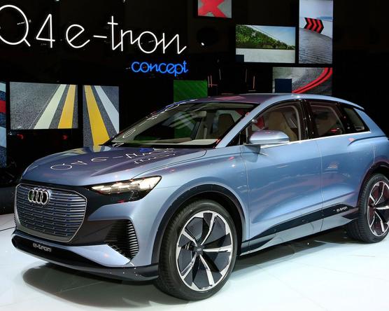 Csak 180-nal mehet az Audi Q4 e-tron concept