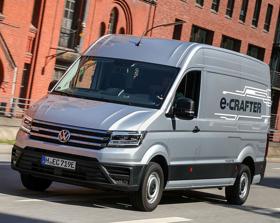 Városi áruszállításra készült a VW e-Crafter