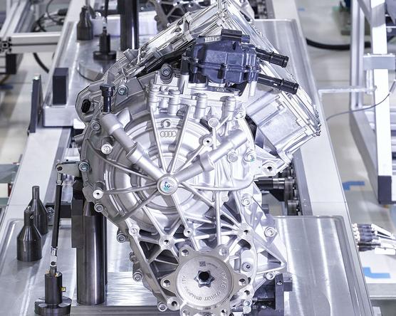 Győrben készül az Audi e-tron motorja