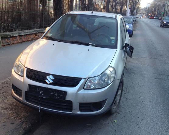 Az elhagyott kocsik elfekvője a Rottenbiller utca