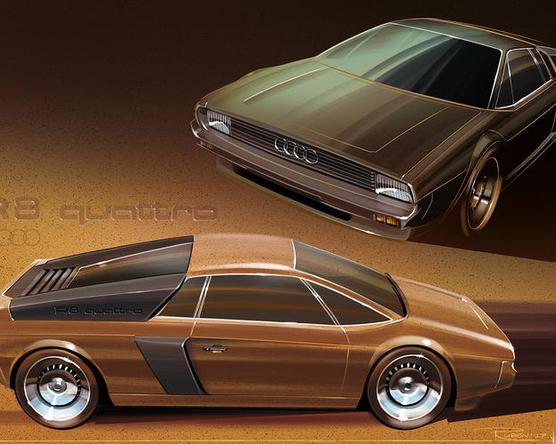 Így nézett volna ki az R8 1980-ban
