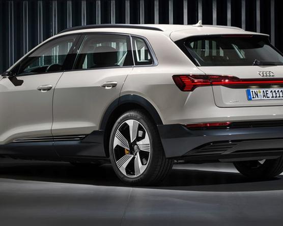 Kiemelkedő eredményt ért el az Audi e-tron a biztonsági teszten
