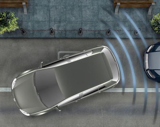Tudta, hogyan működik a parkoló asszisztens?