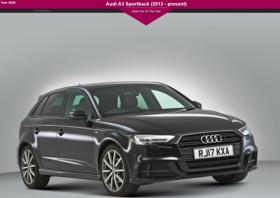 Az Audi A3 Sportback Nagy Britannia legjobb használt autója