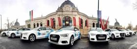 Húsz Audi A3 a legjobb úszóknak