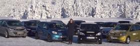 Kiválóan teljesítettek a VW konszern elektromosai a norvég téli teszten